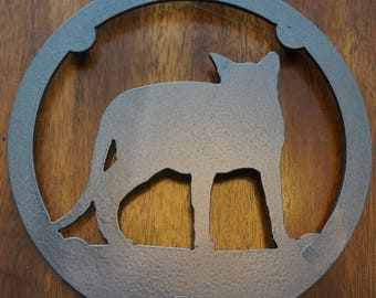 """Cat Trivet """"Ocicat"""""""