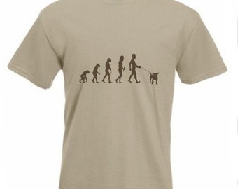Evolution To Jack Russell t-shirt Funny Dog T-shirt sizes Sm To 2XXL