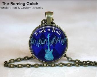 GUITAR Pendant •  Electric Guitar •  Bass Guitar •  Electric Guitar •  Guitarist • Gift Under 20 • Made in Australia (P0096)