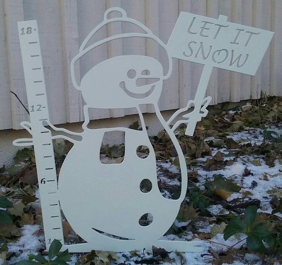 "18"" Snowman Snow Gage"