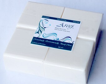 Areej 10 LB White Melt and Pour Soap Base