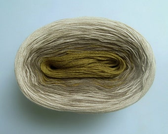 PATAGONIA II  Color Changing Cotton yarn  480 yards/100 gr  Fingering Weight