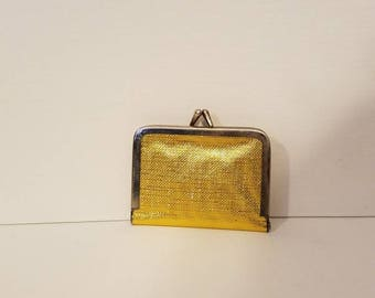 Gold Coin Purse Sewing Kit