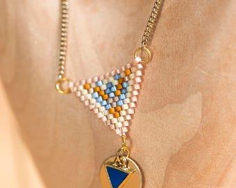 Necklace BALI (Miyuki beads)