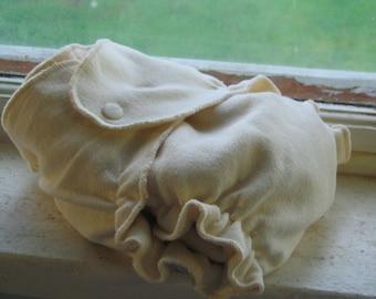 Organic Hemp Fitted Diaper 10-35lbs