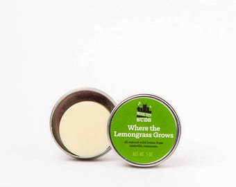 Where the Lemongrass Grows - Solid Lotion Bar