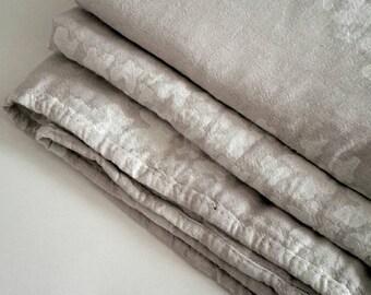 Organic Cotton blanket -  Pastel Butterfly blanket throw - Stonewashed Soft bedspread - Elegant Christmas Gift - Jacquard bedding - CozyHome