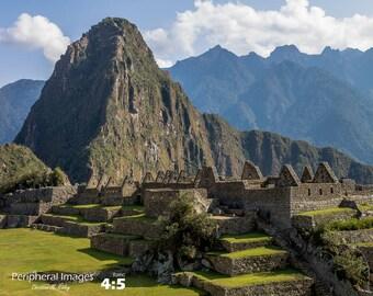 Machu Picchu Photography, Machu Picchu Print Art, Peru Photography, Landscape Photography, Nature Photography, Fine Art Photography; Peru
