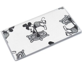 Checkbook Cover Steamboat Mickey