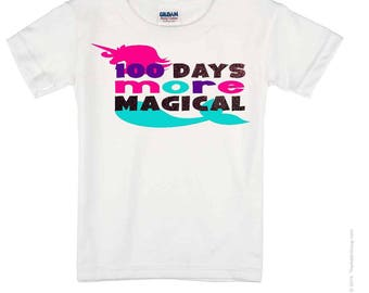 100 Days More Magical  T Shirt, onesie