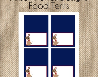 Puppy-Dog-Puppy Dog Birthday Party Food Tents