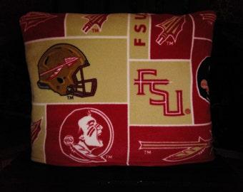 Florida State Seminoles stadium blanket/pillow/seat cushion