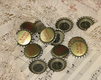 20 Vintage Unused NOS Puzzle Bottle Caps