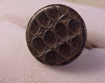 Vintage Clothing Buttons Adjustable Ring