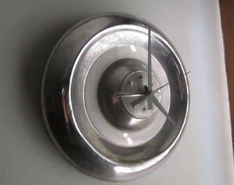 1955-56 Oldsmobile Hubcap Clock no.1