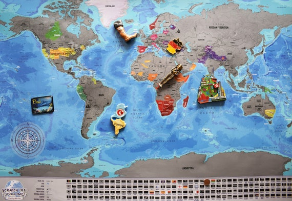Scratchable map xxl map detailed scratch off map usa like this item gumiabroncs Choice Image