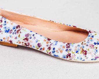 Little Flowers Leather Ballet Flats ballerinas ballerina's ballerina pumps ballerina flats ballerina shoes ballet slippers ballet shoes