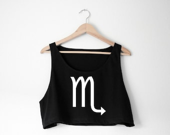 Custom Zodiac Tank - Choose Color and Design - Made in USA by So Effing Cute