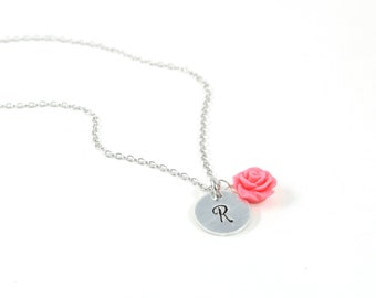Initial Necklace - Mother Necklace - Mothers Day Necklace - Mom Jewelry - Kids' Initials - Gift for Grandma