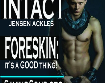 Foreskin: A Good Thing Ackles Intact Info Stickers