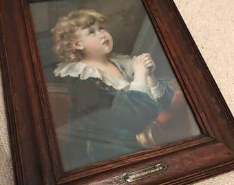 Suffer Little Children  Vintage Picture