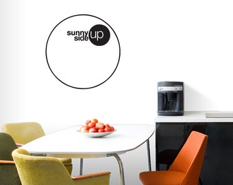 Sunny Side Up - Kitchen Wall Decals