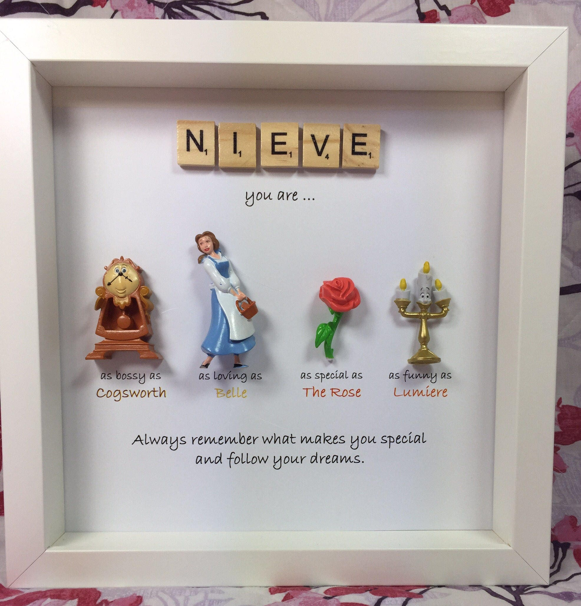 Disney Beauty and the Beast Frame- perfect mum, sister- daughter ...
