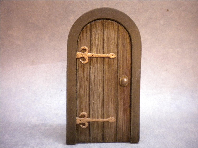 🔎zoom & DollHouse Miniature Door Tudor Door Medieval Cottage Door