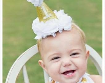 1st Birthday Hat   Girl
