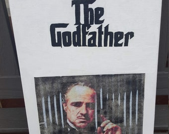 Vintage Godfather Canvas Art