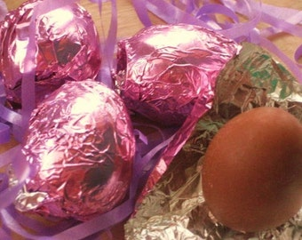 Chocolate Egg Soap - Easter Egg Vegan Candy Soap - Chocolate Soap - Candy - Easter - Soap for Kids - Gift for Him - Fake Food - Food Soap