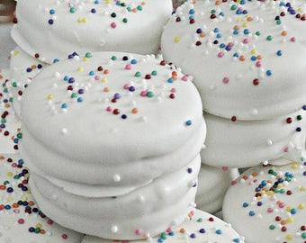 White Chocolate Oreo Cookies