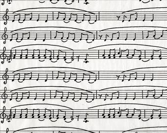 Leaf Decopatch 30 x 40 cm - N - Ref FDA468 - 468 music Notes until the stock!