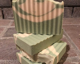Margarita Lime Goats milk soap, moisturizing soap, homemade soap