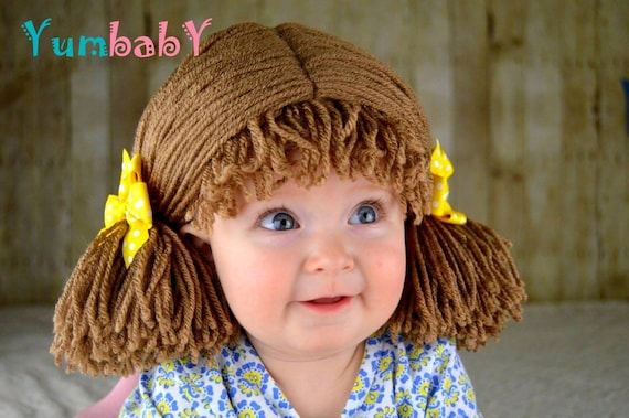 Halloween Costume Kids Costumes Cabbage Patch Wig Pigtail