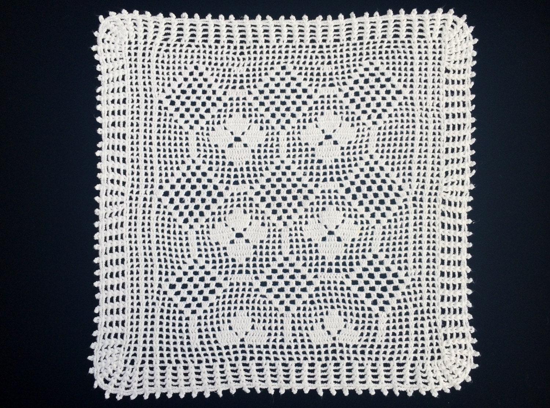 Awesome Leicht Häkeldeckchen Muster Elaboration - Decke Stricken ...