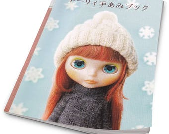 Doll Knitted hats Patterns- Doll Fashion Styling- Japanese craft book-Japanese Doll Clothes book- PDF-instant download