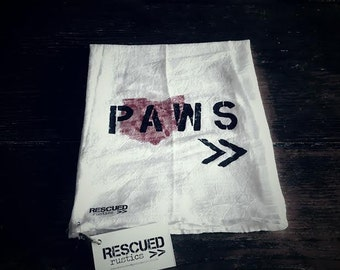 PAWS>> by RESCUEDrustics Human Hand Towel