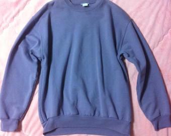 90s Vintage Sweater, Pastel Sweater, Lavender Purple Sweater, Pastel Purple Sweatshirt, 90s Pastel Sweater