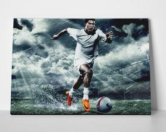 Cristiano Ronaldo Clouds Poster or Canvas