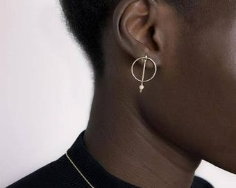 EXQUISITE gold - Who We Are plated earrings