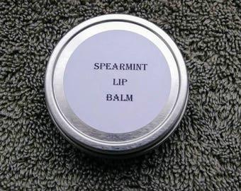 Spearmint  lip balm