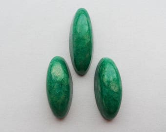 Amazonite cabochon set