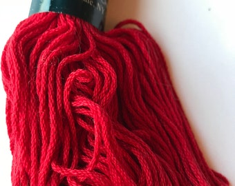 Cotton DK Weight Yarn -- Cotton Classic by Tahki Stacy Charles -- Red