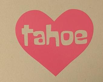 tahoe heart