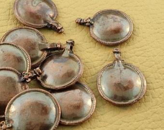 Copper Focal Pendants