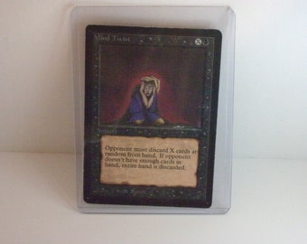 Magic the Gathering Beta Sorcery Black Rare