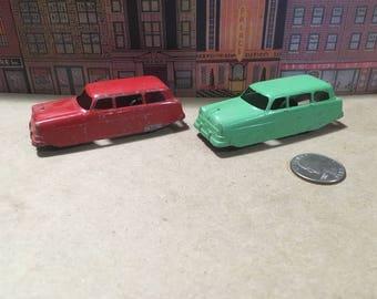 Nice Pair of Vintage Tootsie Toy Cars