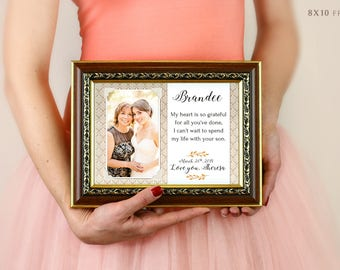 Mom Gift Mothers Day Gift Mothers Day Gift Mothers Day Photo Picture Frame Holder Home Is Where Mom Is