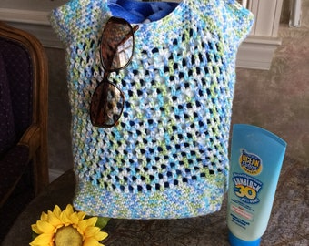 Beach Bag, Market Bag, Farmer's Market Bag, Crochet Market Bag, Crochet Tote, Crochet Grocery Bag, Shopping Tote, Crochet Tote Bag, Purse